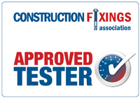 Construction Fixings Association Approved Tester